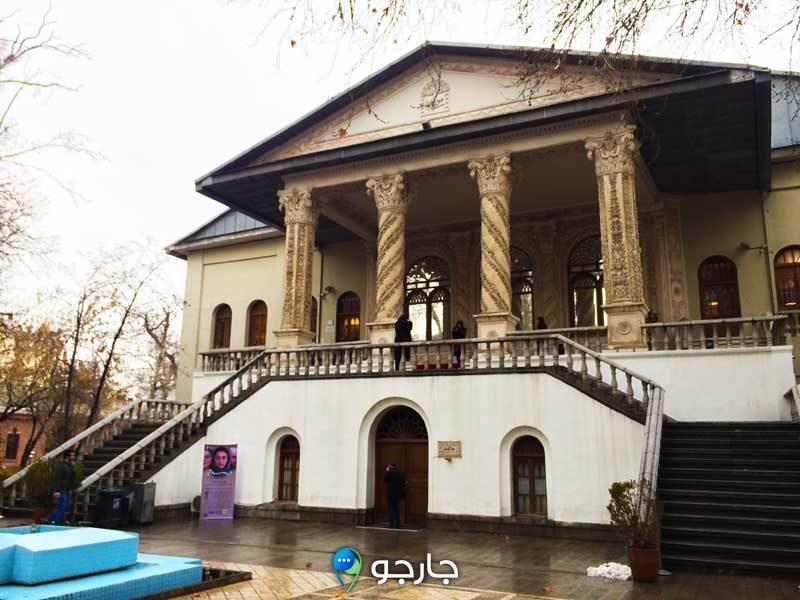 موزه سینما در باغ فردوس