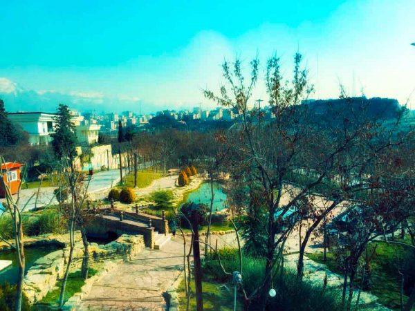 پارک فدک (باغ راه فدک) ایران زمین