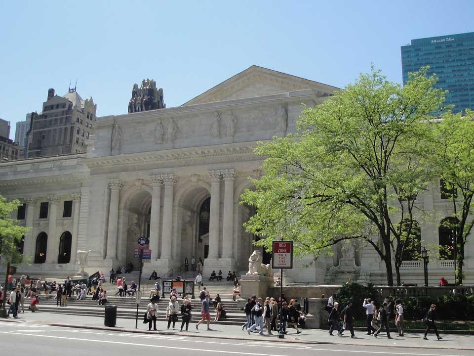 کتابخانه عمومی نیویورک از جذابترین کتابخانههای جهان