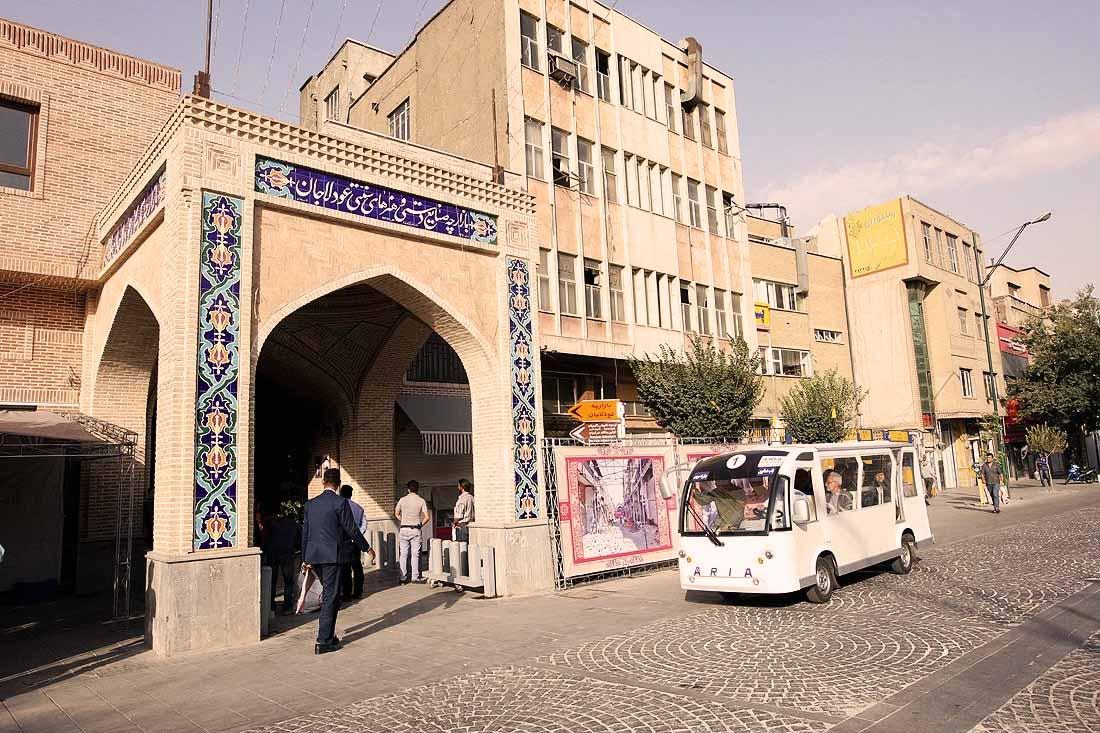بازارچه صنایع دستی عودلاجان