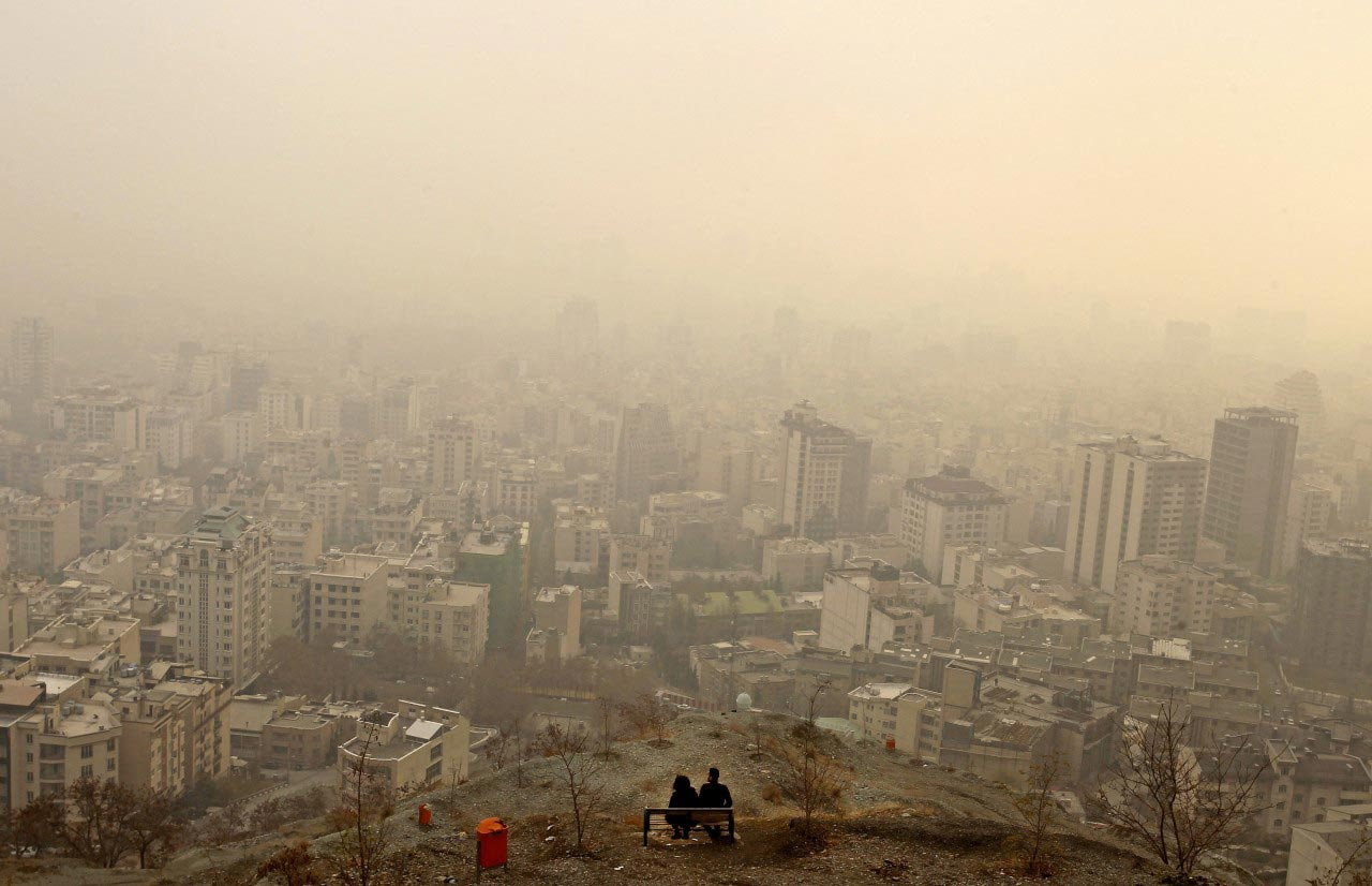 هوای آلوده شهر