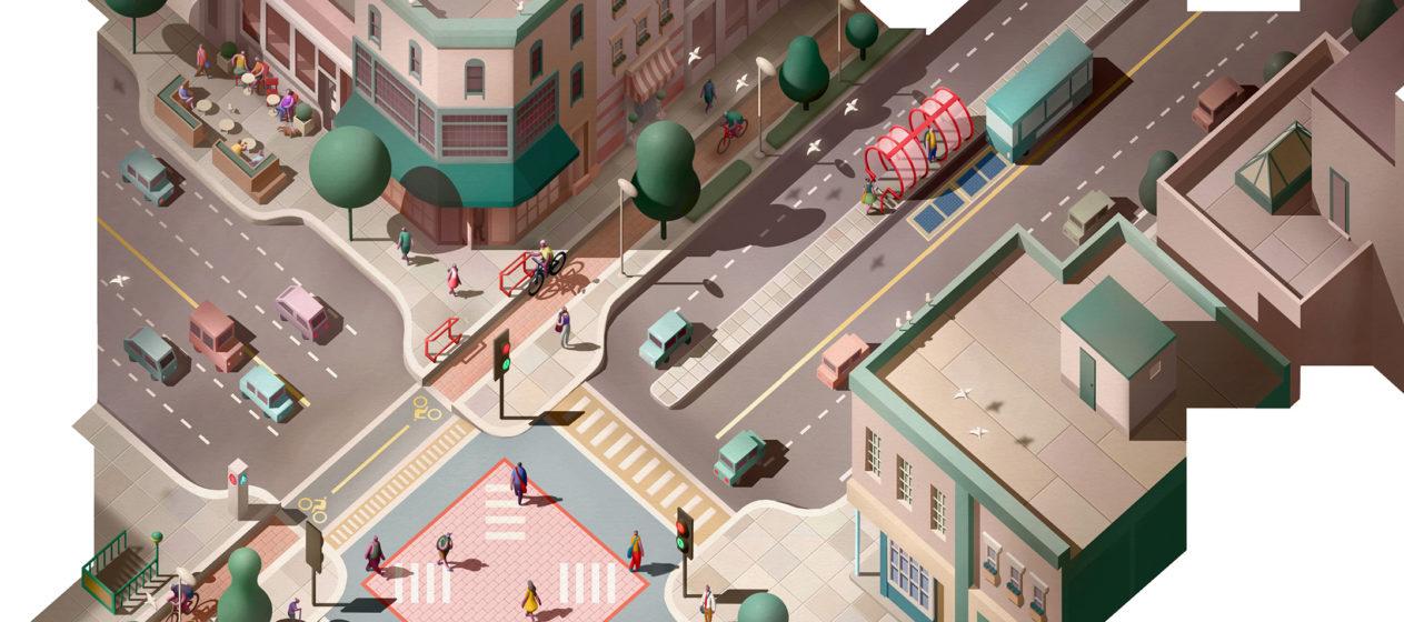 16 ایده برای طراحی خیابان و تقاطع