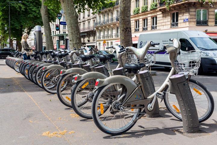 تسهیلات عمومی دوچرخه سواری در شهرها