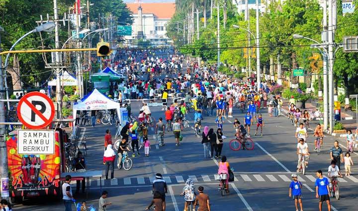 شهر عاری از دوچرخه