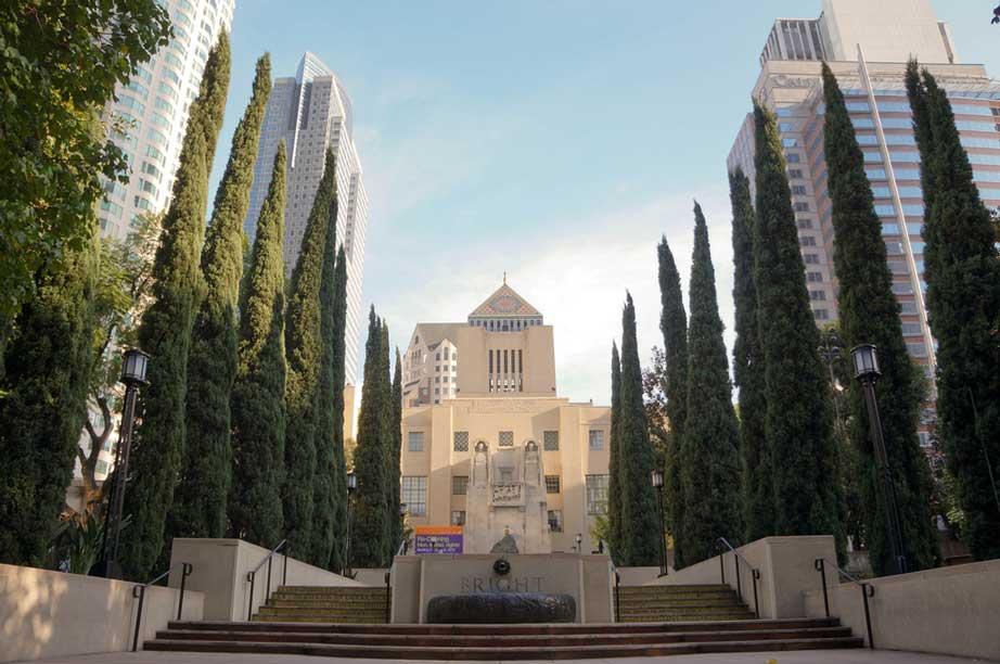 کتابخانه عمومی شهر لس آنجلس پنجمین شهر لیست