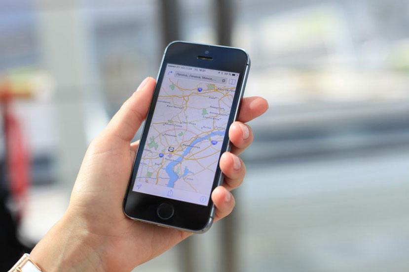 نقشه شهر در تلفن همراه