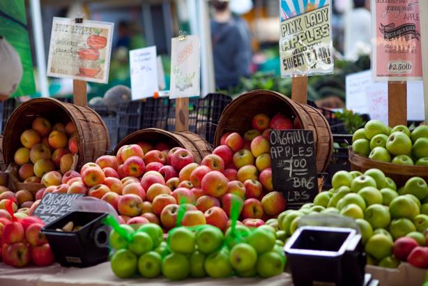 بازار نخصولات کشاورزی محلی