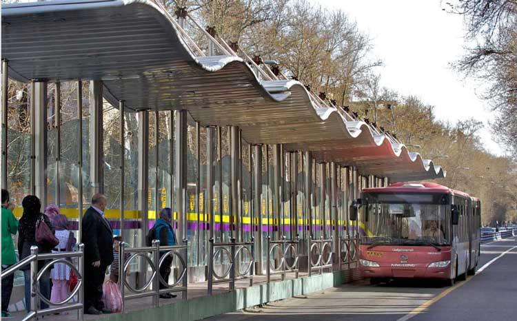 دسترسی محله به ایستگاه مترو